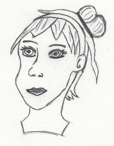 Scan der Handskizze